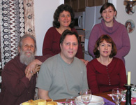 the Elkan Family, with Michael (my dad): photo by Sienna
